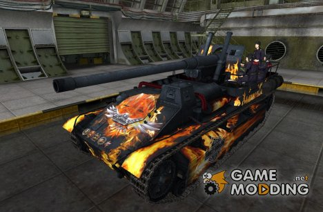 Ремоделинг СУ-8 с экипажем для World of Tanks
