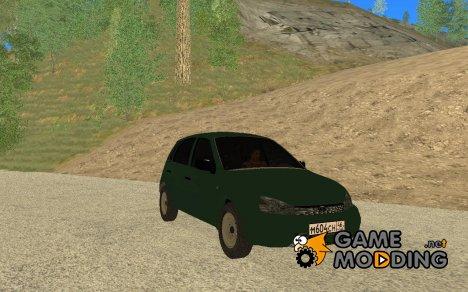 Лада Калина Хэтчбек для GTA San Andreas