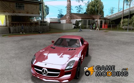 Mercedes-Benz SLS AMG 2010 Hamann Design for GTA San Andreas