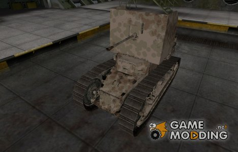 Французкий скин для Renault FT AC для World of Tanks