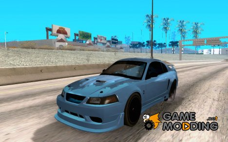Ford Mustang SVT Cobra 2003 Black wheels для GTA San Andreas