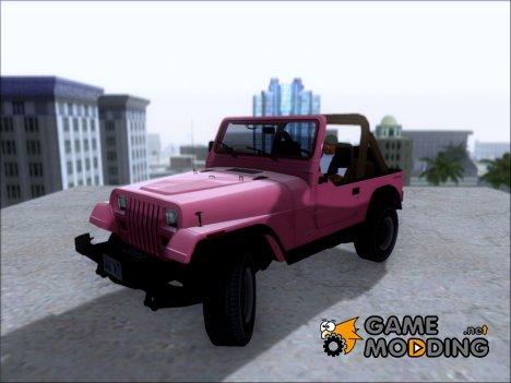 Jeep Wrangler '88 из видео-игры Driver: San Francisco for GTA San Andreas