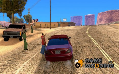 Пограничная служба США для GTA San Andreas