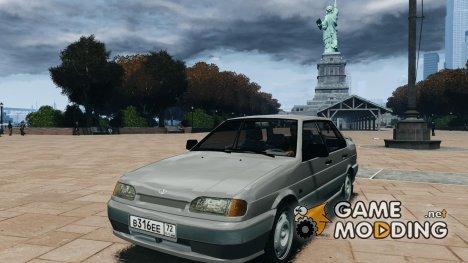 ВАЗ 2115 v1.0 для GTA 4