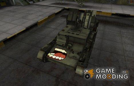 Забавный скин СУ-5 for World of Tanks