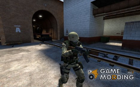 US Soldier CT для Counter-Strike Source
