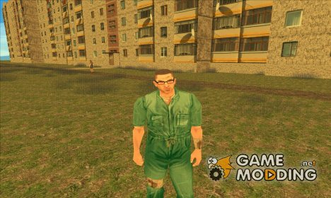 Manhunt 2-Danny Prison Outfit for GTA San Andreas