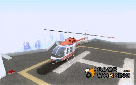 Bell 206 B Police texture2 for GTA San Andreas