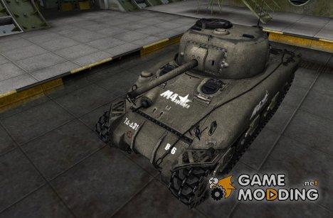 Шкурка для M4 Sherman для World of Tanks