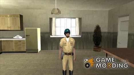 Новый коп байкер for GTA San Andreas