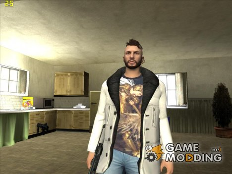 Skin HD New DLC парень в дублёнке for GTA San Andreas