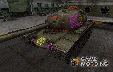 Качественные зоны пробития для M103 for World of Tanks
