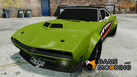 Dodge Charger RT SharkWide для GTA 4