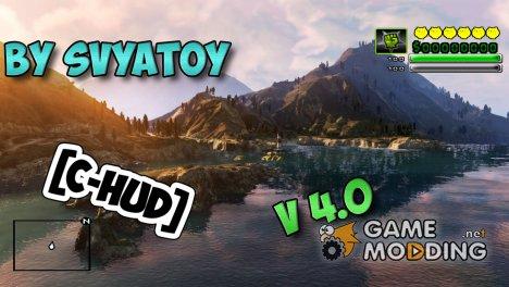 C-HUD v4.0 by SVYATOY для GTA San Andreas