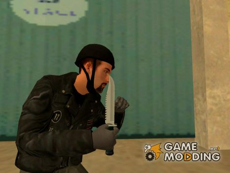Knife Grand Theft Auto 4 для GTA San Andreas
