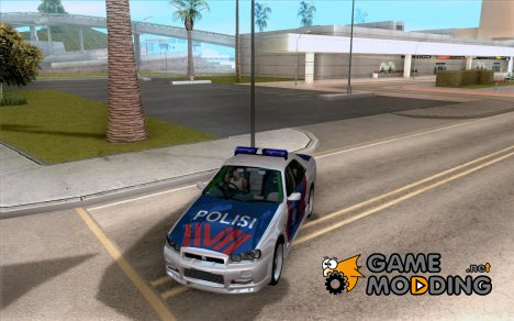Nissan Skyline Indonesia Police for GTA San Andreas