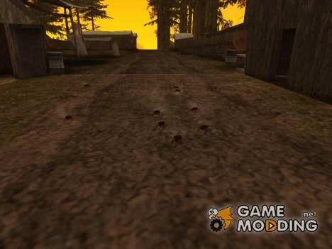 Вторжение жуков v.2  для GTA San Andreas