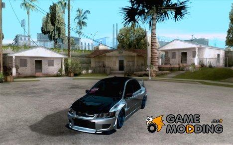 Mitsubishi Lancer Evo 8 Street Drift для GTA San Andreas
