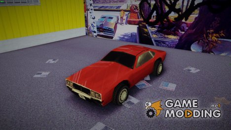 Dodge Challenger from Driver 2 (Civil Edition) для GTA 3