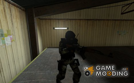 Arctic Camouflage SAS for Counter-Strike Source