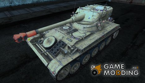 Шкурка для AMX 13 75 №13 for World of Tanks