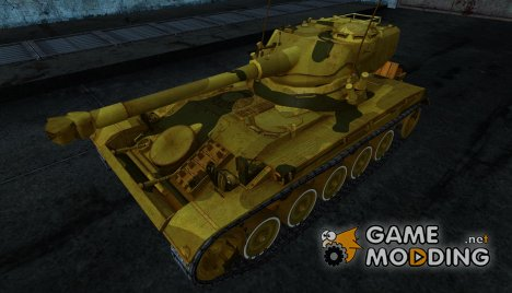 Шкурка для AMX 13 75 №2 для World of Tanks