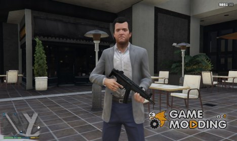 MP5 (folded) for GTA 5