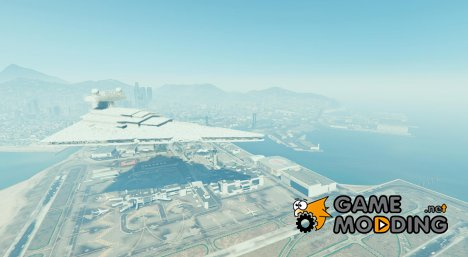 Imperial Star Destroyer Blimp BETA v1.00 для GTA 5