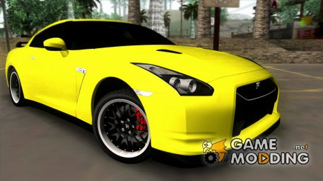 Nissan GT-R35 Smotra for GTA San Andreas