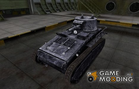 Темный скин для Leichttraktor для World of Tanks
