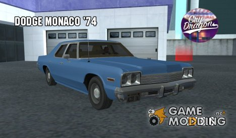 1974 Dodge Monaco для GTA San Andreas