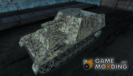 Шкурка для Hummel for World of Tanks