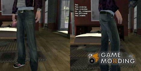 Джинсы for GTA 4