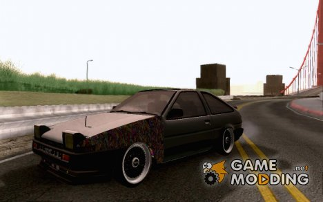 Toyota AE86 JDM for GTA San Andreas