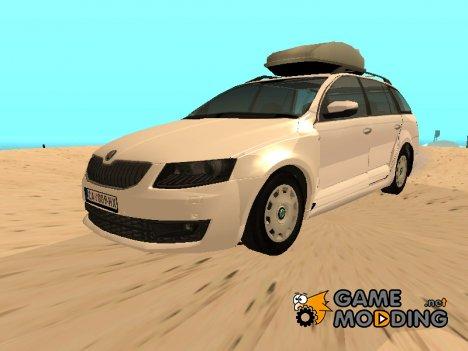 Skoda Octavia Mk3 Station Wagon для GTA San Andreas