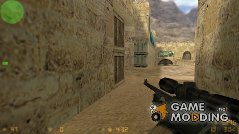 AWP With Crosshair for Counter-Strike 1.6