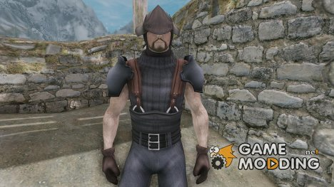 Zack - Final Fantasy 7 Clothes and Hairstyle для TES V Skyrim