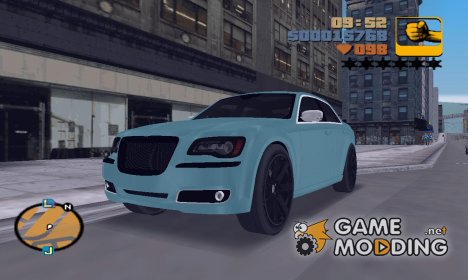 "Chrysler 300C SRT8 2011 ""TT Black Revel"" for GTA 3"