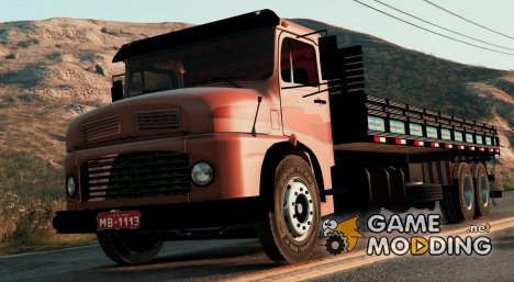 Mercedes-Benz MB 1113 Chassis Trucado BETA 3 для GTA 5