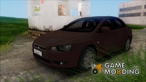 Mitsubishi Lancer X Stock for GTA San Andreas