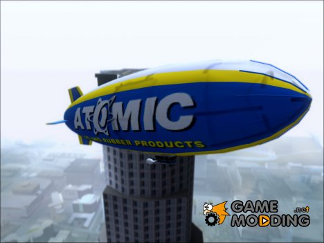Blimp Atomic (GTA V) для GTA San Andreas