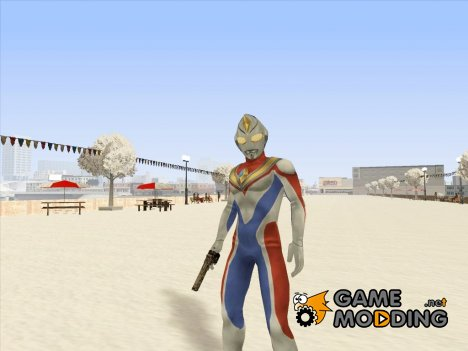Ultraman Dyna for GTA San Andreas