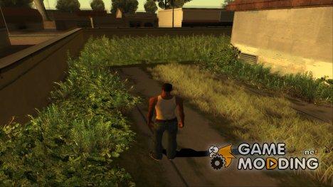 Grass GTA V Beta for GTA San Andreas