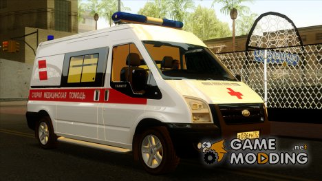 Ford Transit Скорая Помощь for GTA San Andreas