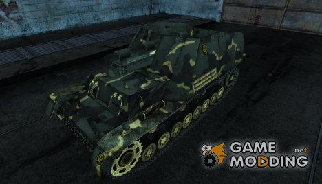 Hummel Gesar для World of Tanks