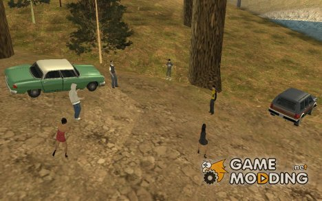 Вечеринка в лесу v.1.0 for GTA San Andreas
