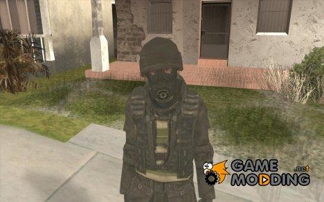 Скин SAS for GTA San Andreas