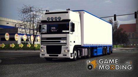 Трейлер Chereau for Euro Truck Simulator 2