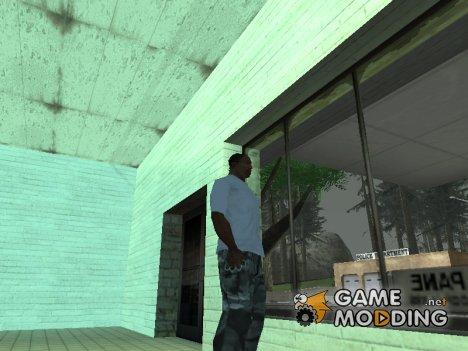 Звук дождя внутри помещения для GTA San Andreas