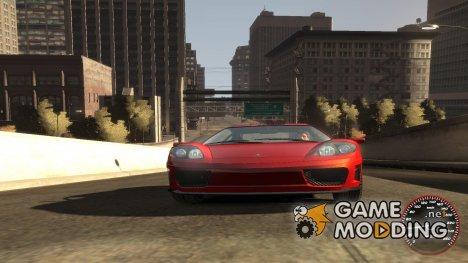 Спидометр IV (Скин 9) для GTA 4